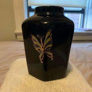 VINTAGE 1980's Bob Mackie Faceted vase
